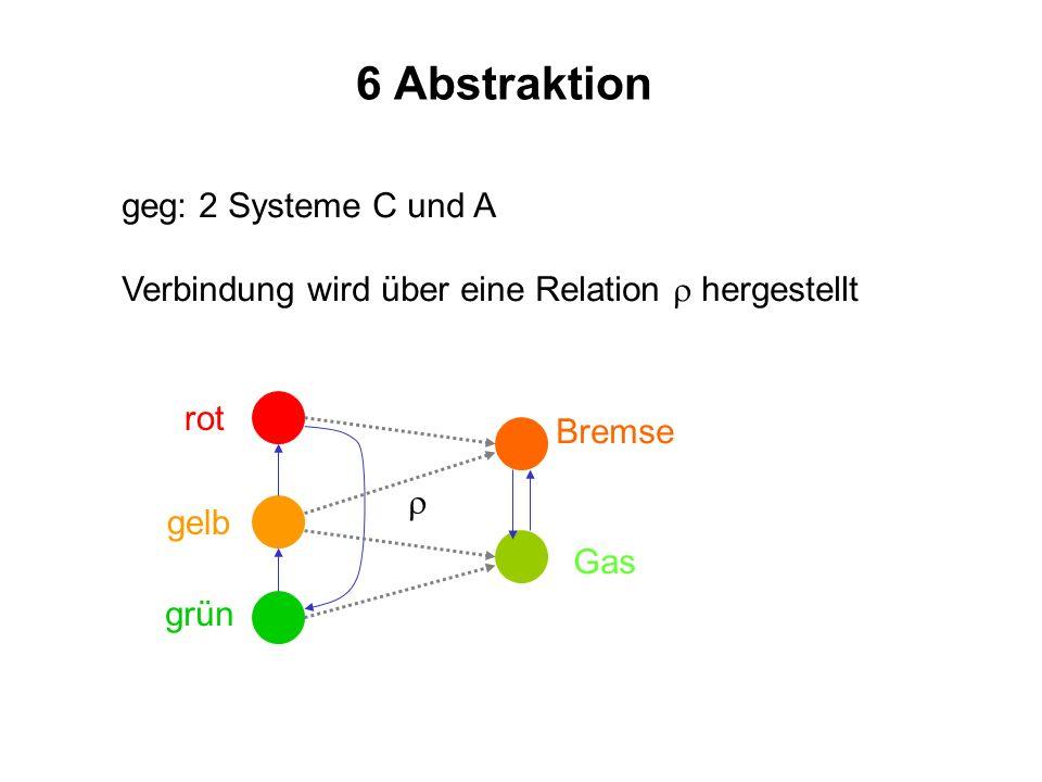 6 Abstraktion geg: 2 Systeme C und A