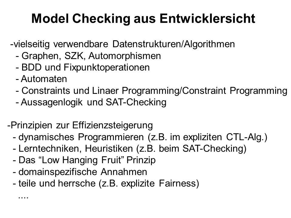 Model Checking aus Entwicklersicht