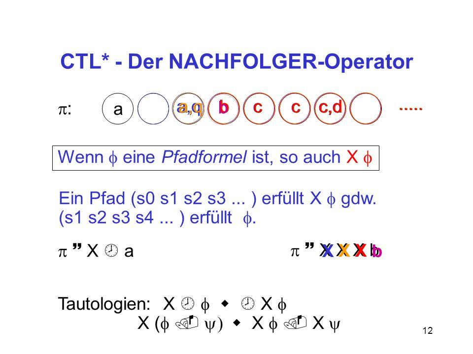 CTL* - Der NACHFOLGER-Operator
