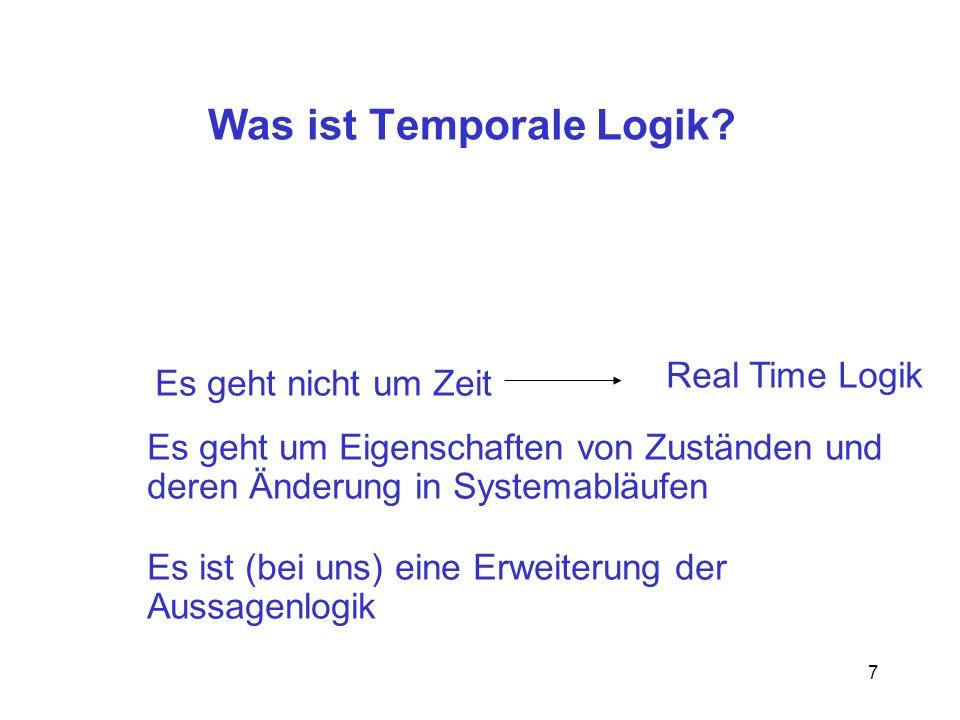 Was ist Temporale Logik