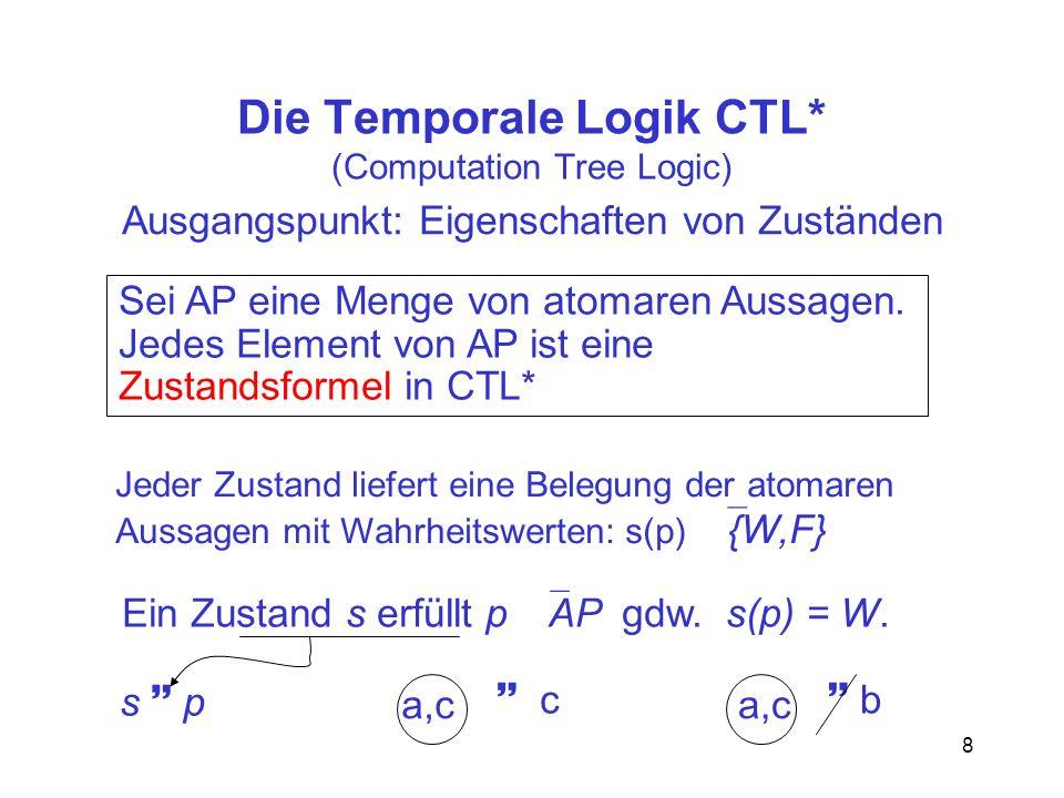 Die Temporale Logik CTL* (Computation Tree Logic)