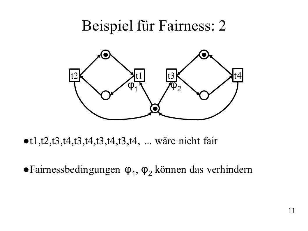 Beispiel für Fairness: 2