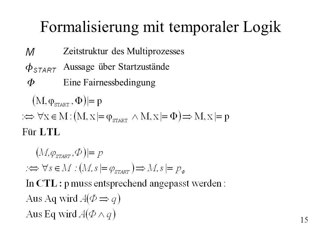 Formalisierung mit temporaler Logik