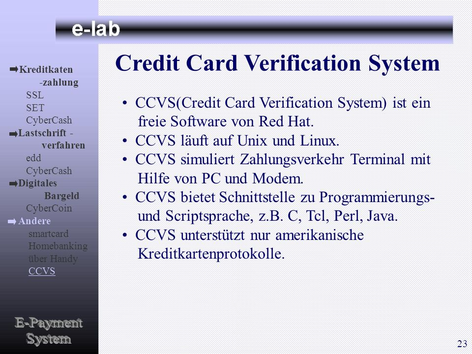Credit Card Verification System