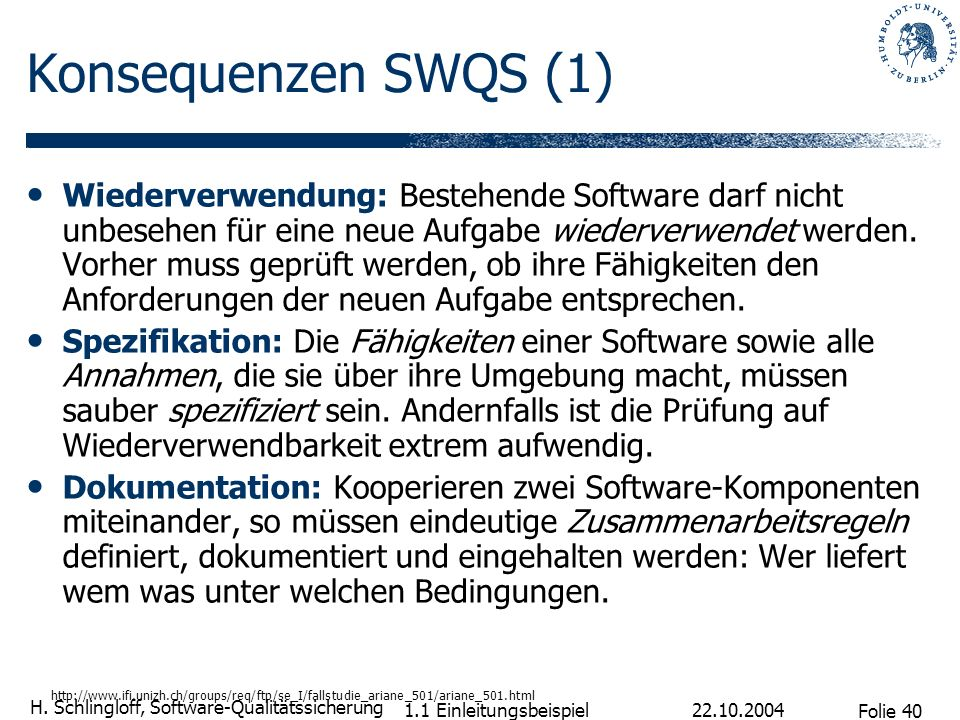 Konsequenzen SWQS (1)