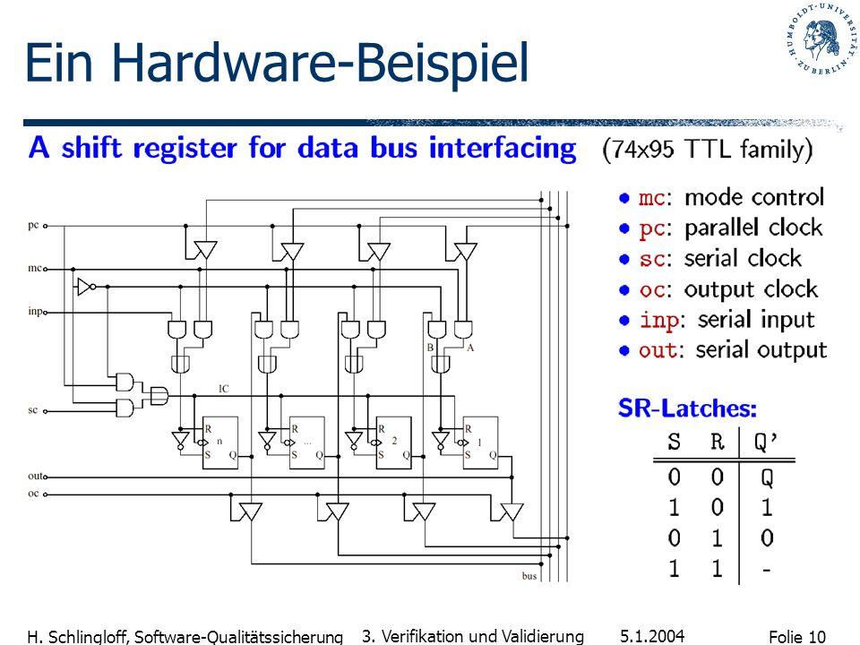 Ein Hardware-Beispiel