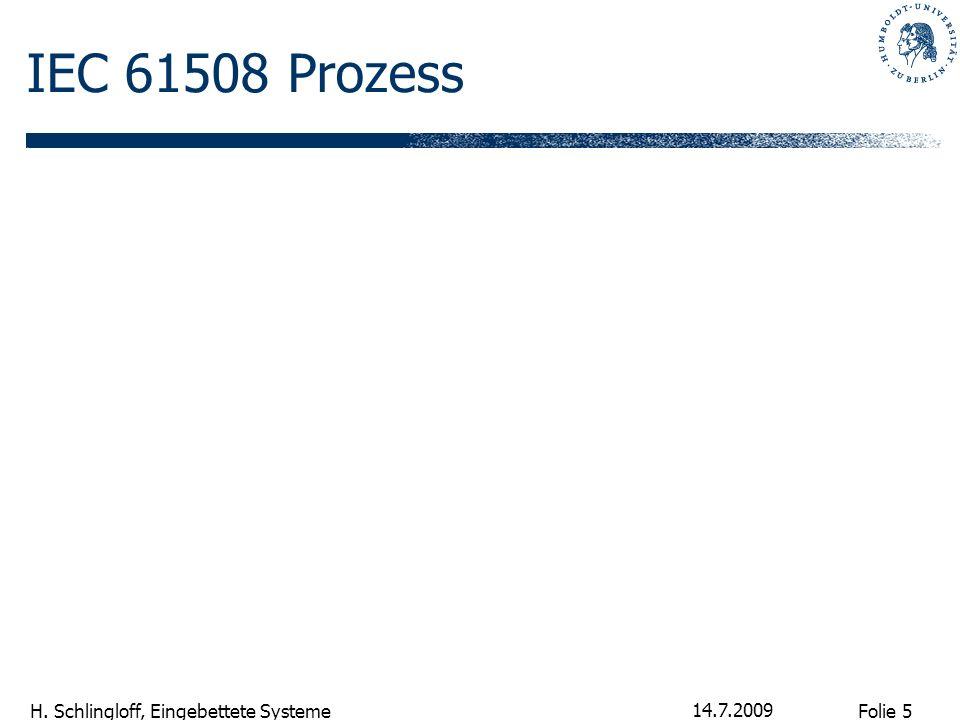 IEC 61508 Prozess 14.7.2009