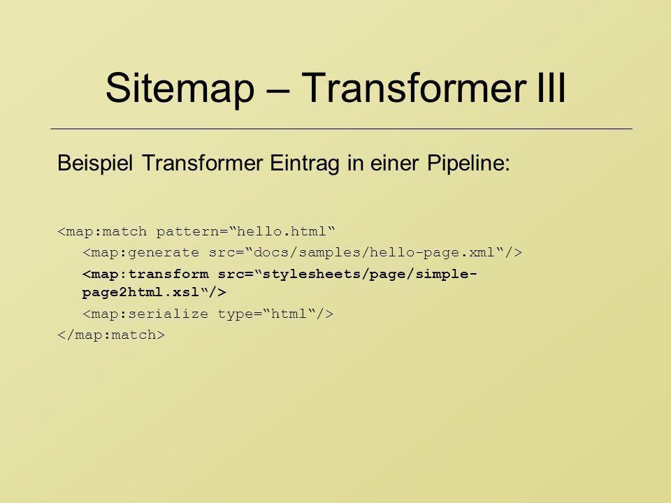 Sitemap – Transformer III