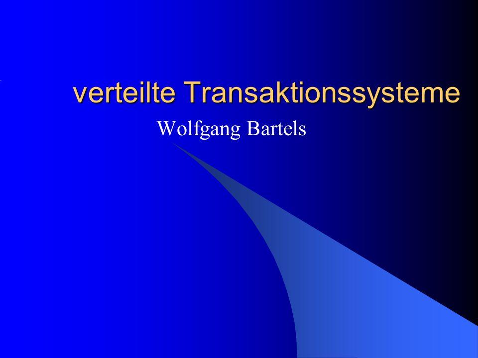 verteilte Transaktionssysteme
