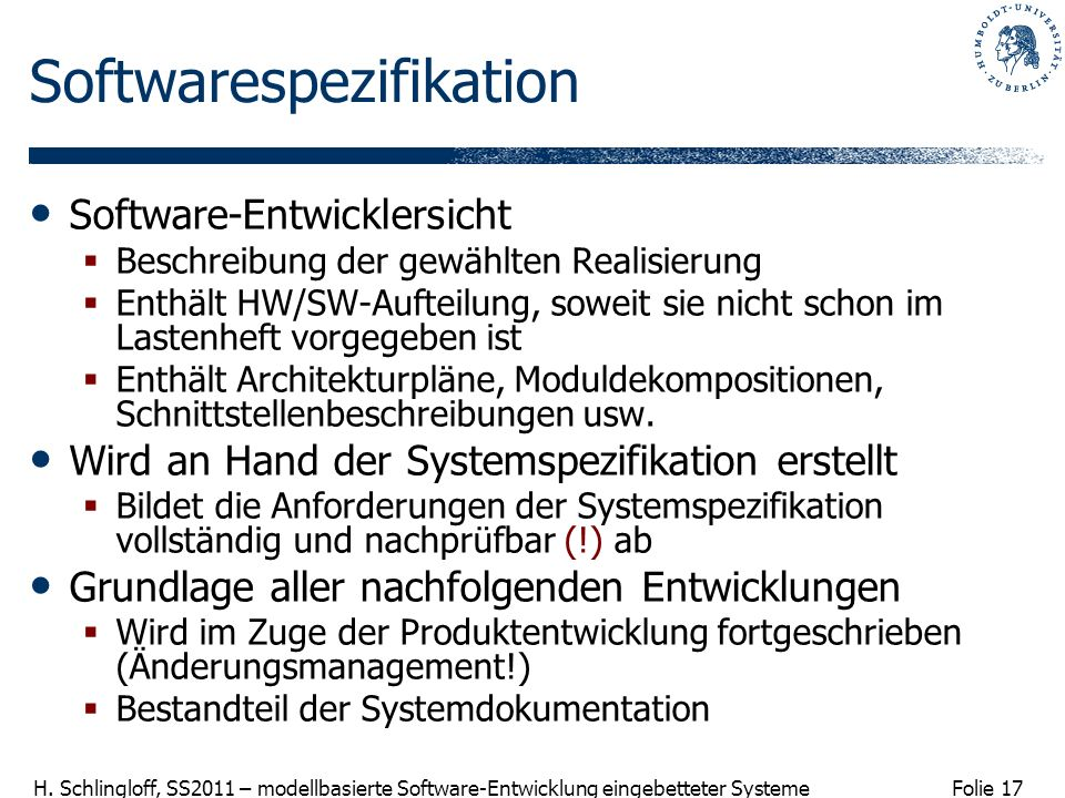 Softwarespezifikation