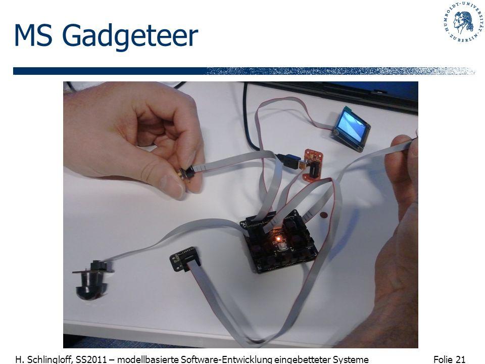 MS Gadgeteer