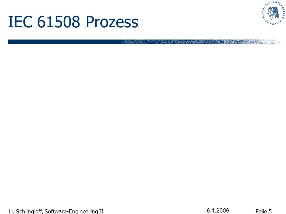 IEC 61508 Prozess 6.1.2006