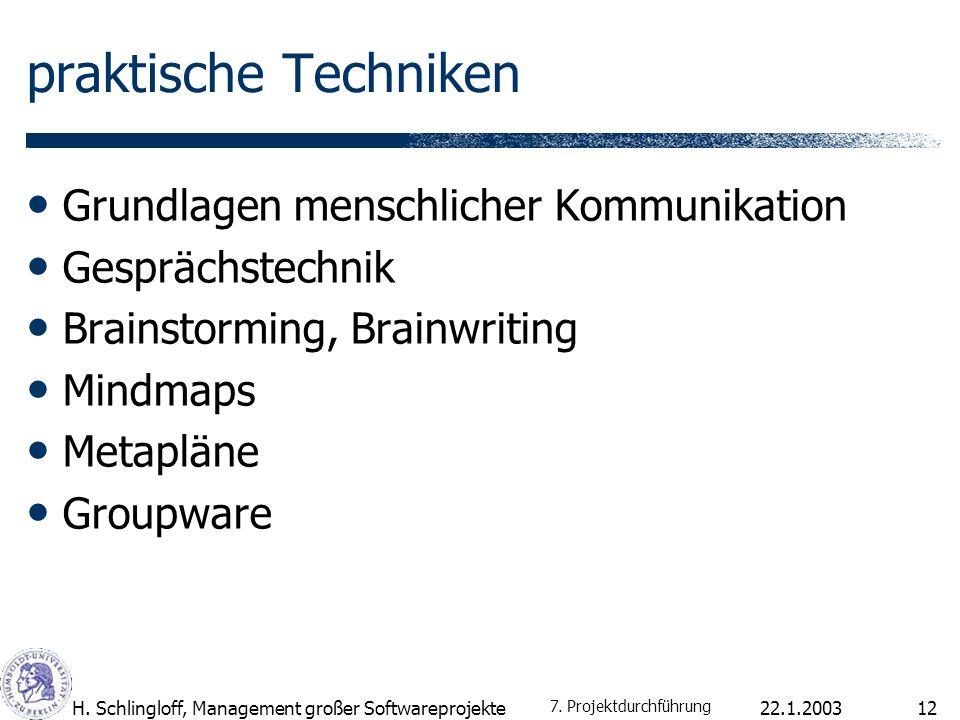 praktische Techniken Grundlagen menschlicher Kommunikation