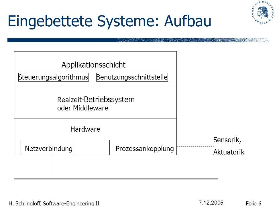 Eingebettete Systeme: Aufbau