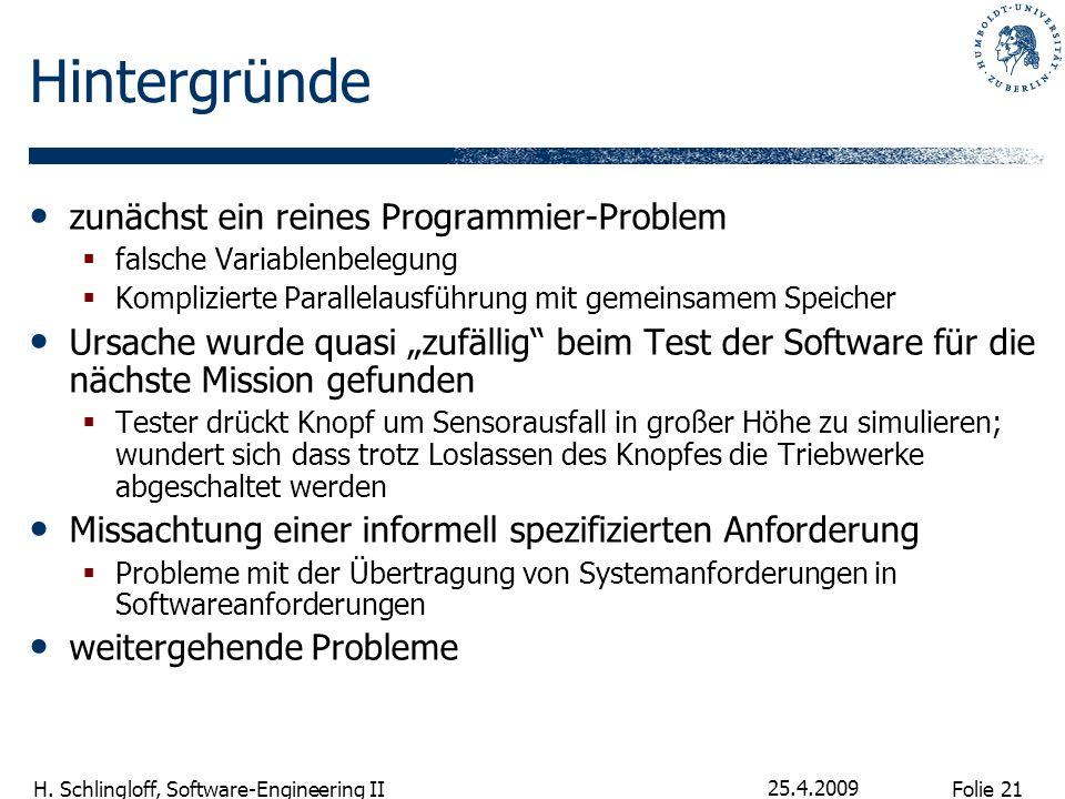 Hintergründe zunächst ein reines Programmier-Problem