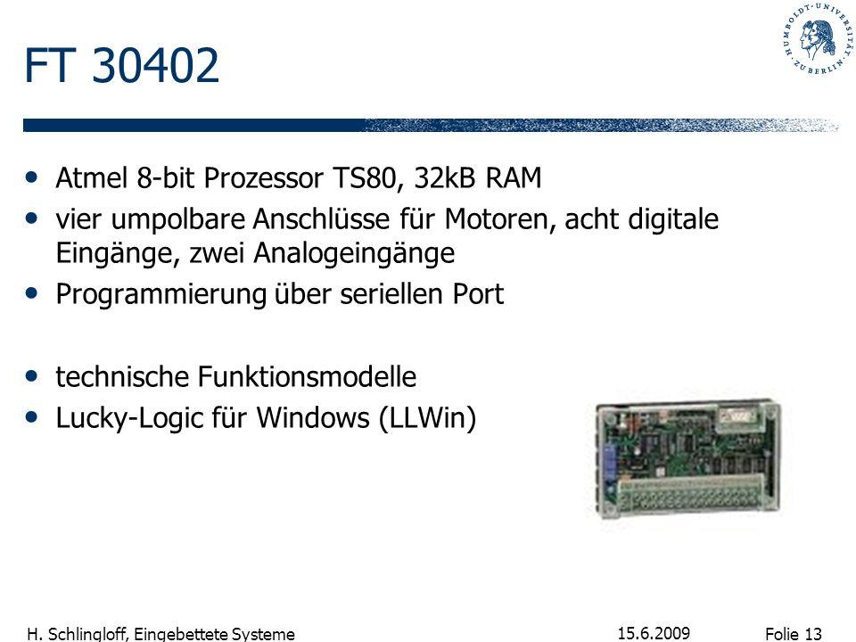 FT 30402 Atmel 8-bit Prozessor TS80, 32kB RAM