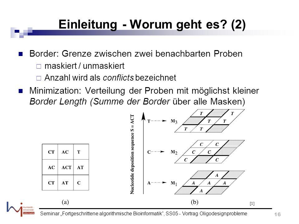 Einleitung - Worum geht es (2)