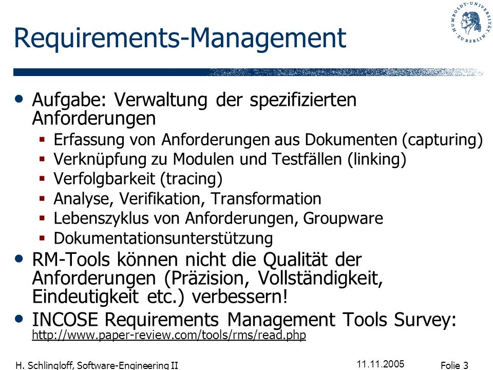 Requirements-Management
