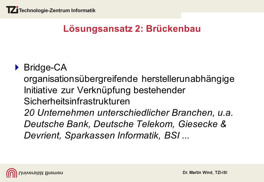 Lösungsansatz 2: Brückenbau