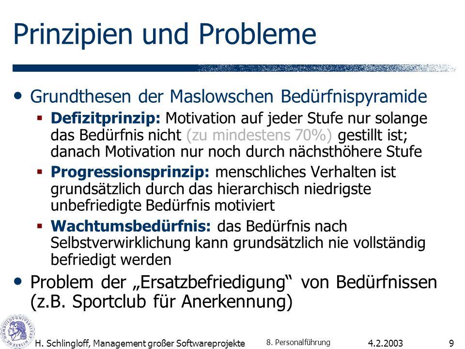 Prinzipien und Probleme