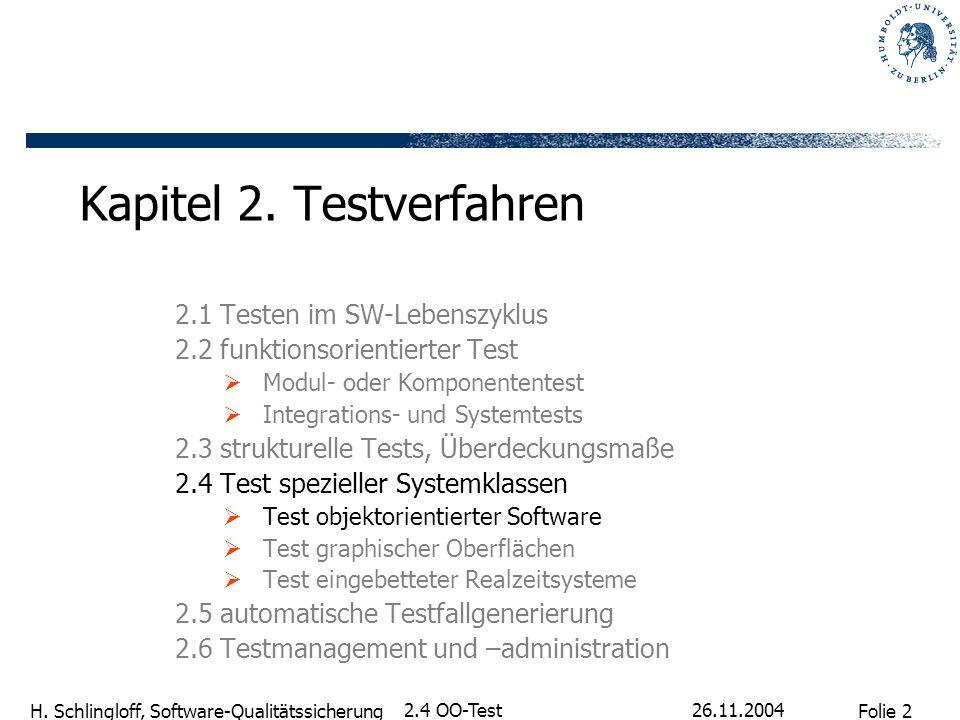 Kapitel 2. Testverfahren