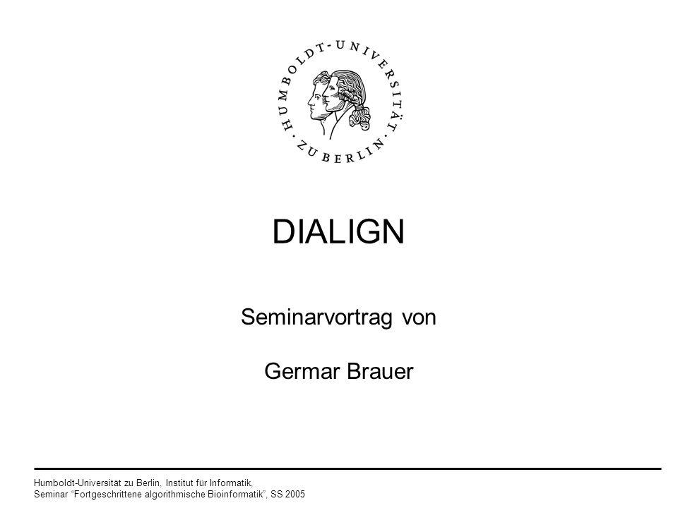 Seminarvortrag von Germar Brauer