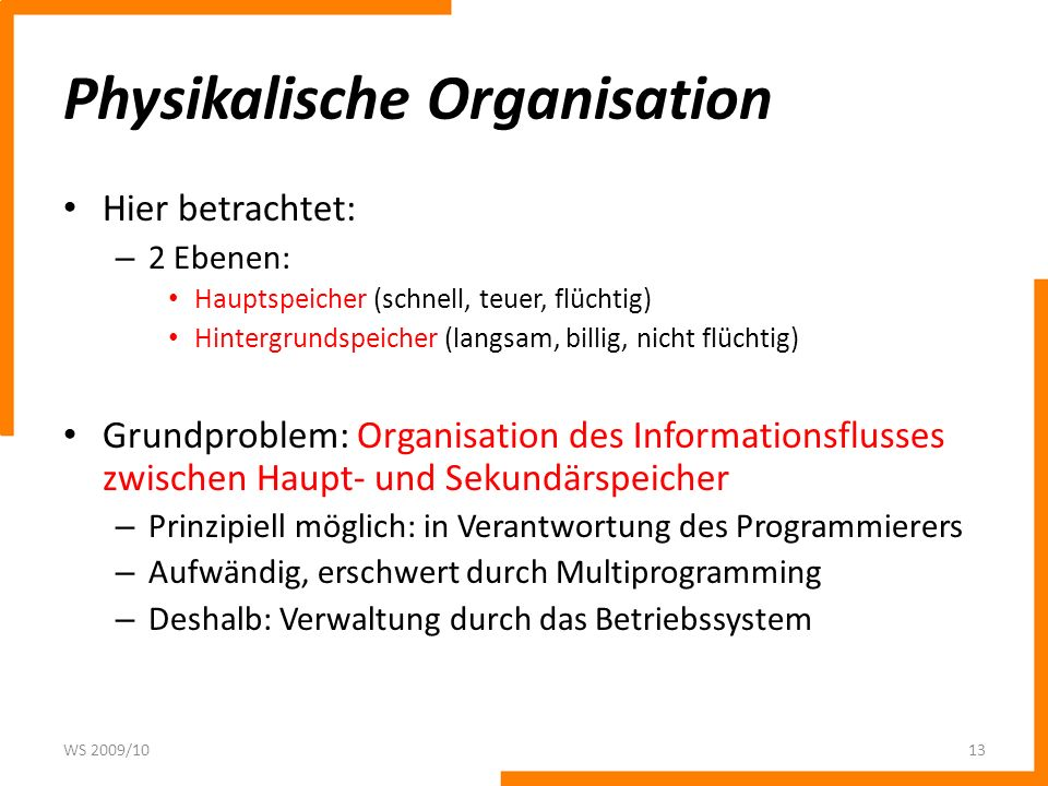 Physikalische Organisation