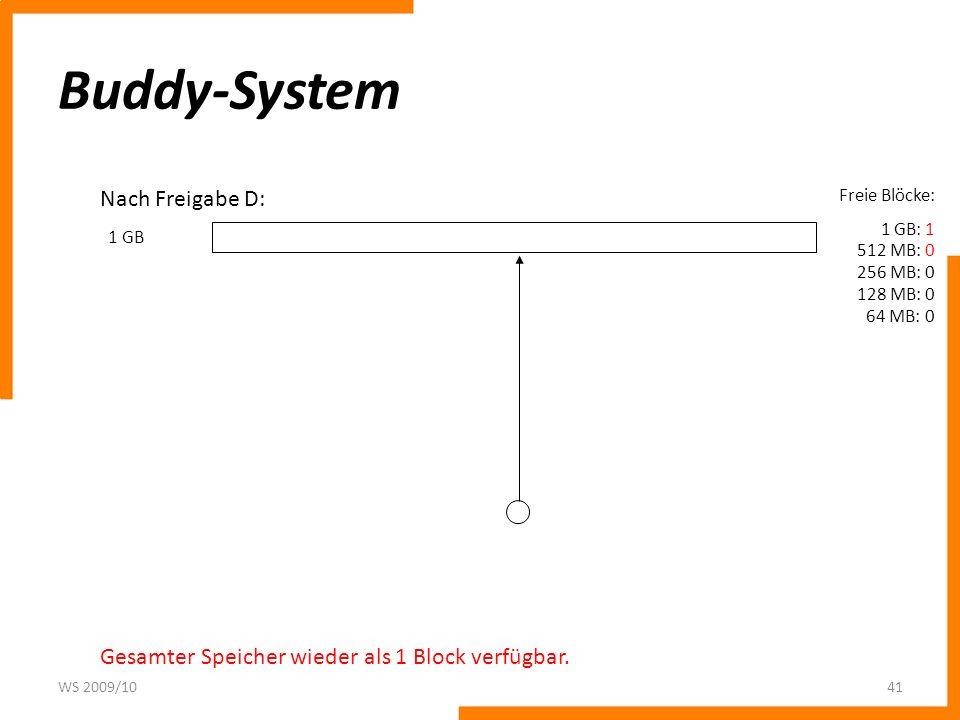 Buddy-System Nach Freigabe D: