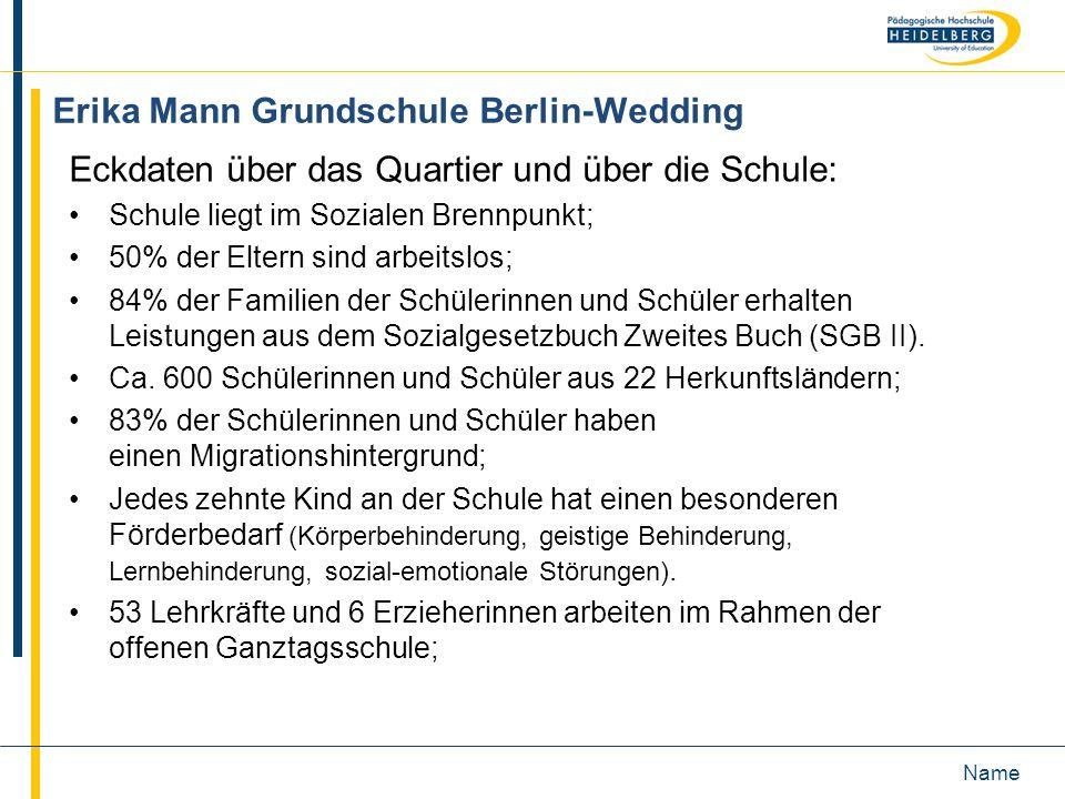 Erika Mann Grundschule Berlin-Wedding