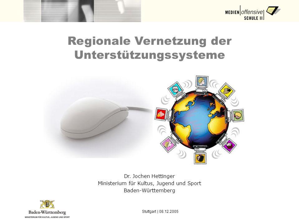 Regionale Vernetzung der Unterstützungssysteme