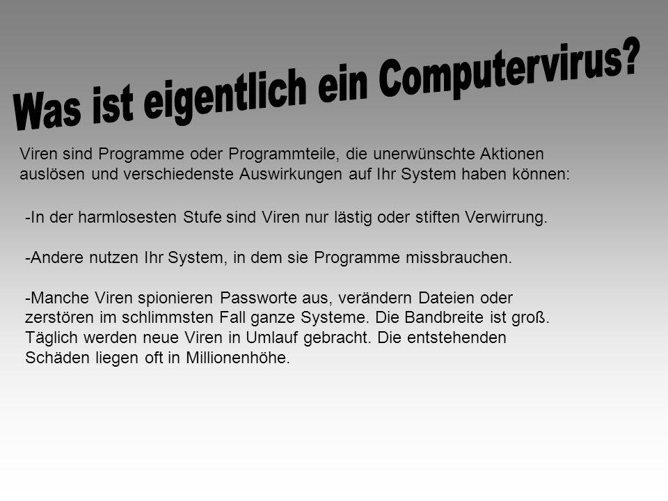 Was ist eigentlich ein Computervirus