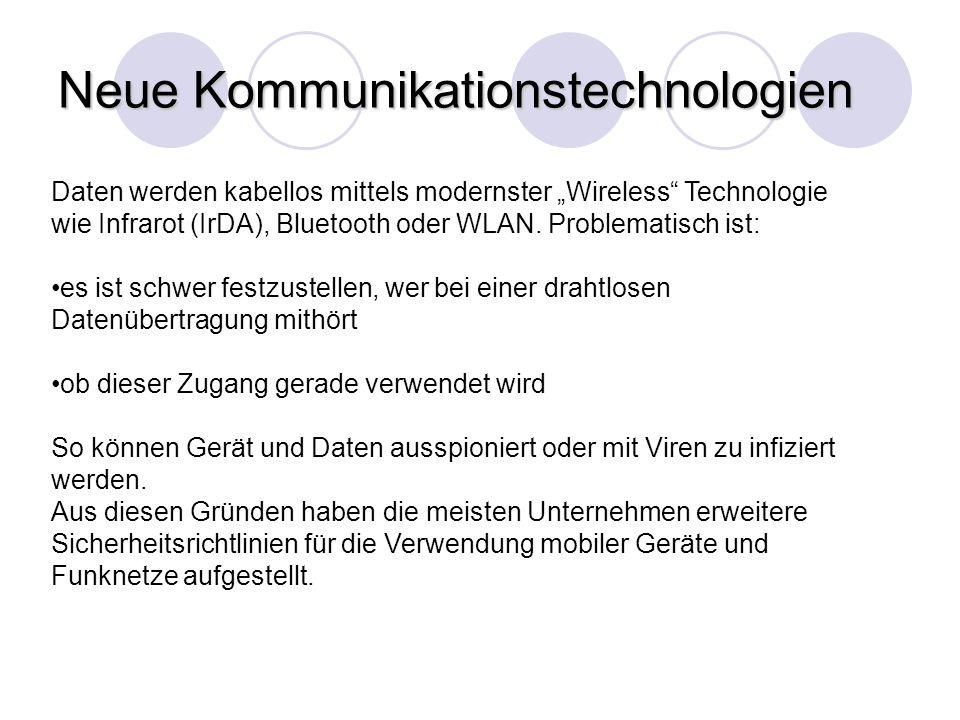Neue Kommunikationstechnologien