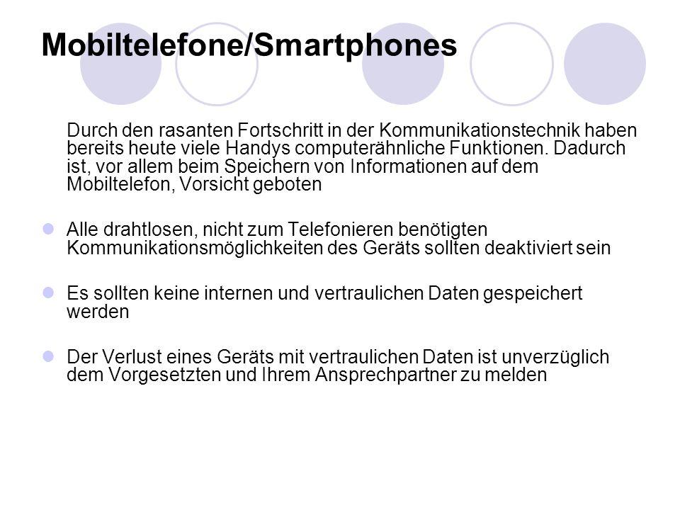 Mobiltelefone/Smartphones