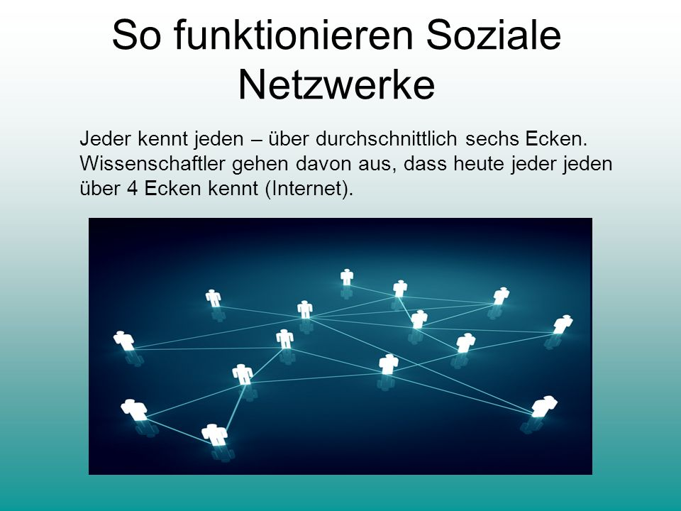 So funktionieren Soziale Netzwerke