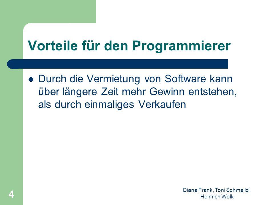Vorteile für den Programmierer
