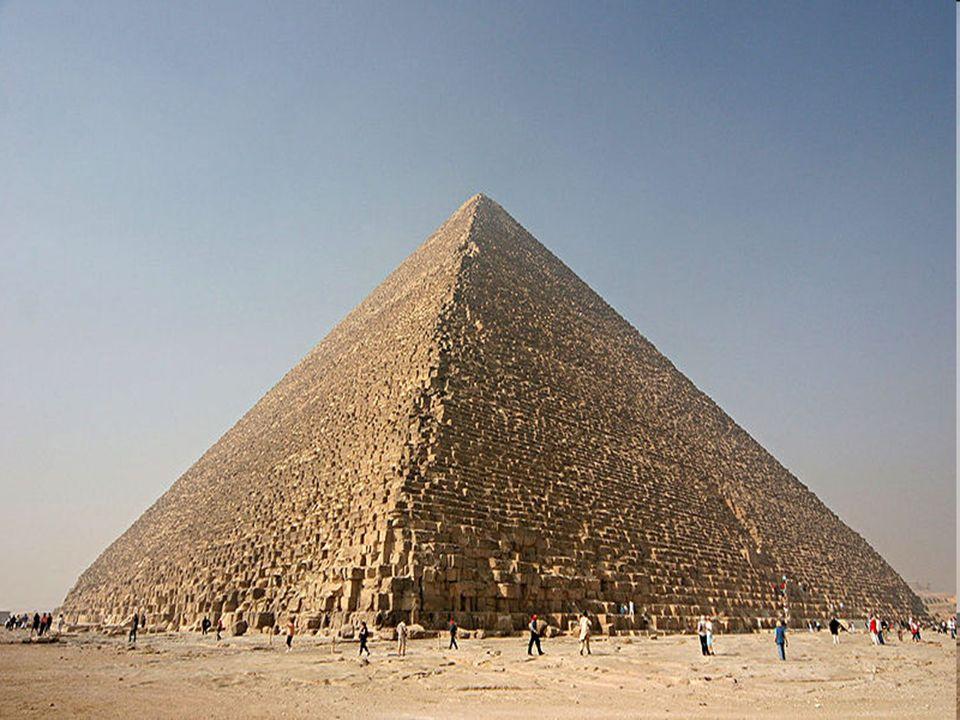 Die Cheopspyramide Baudauer: 20 Jahre Arbeiteranzahl: 100'000 Menschen