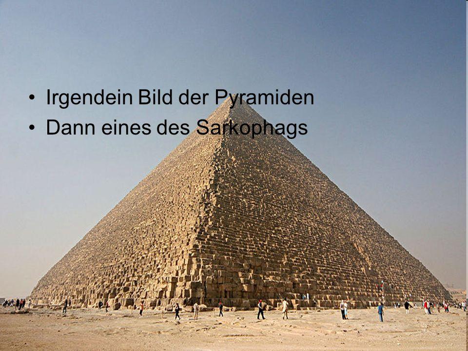Irgendein Bild der Pyramiden