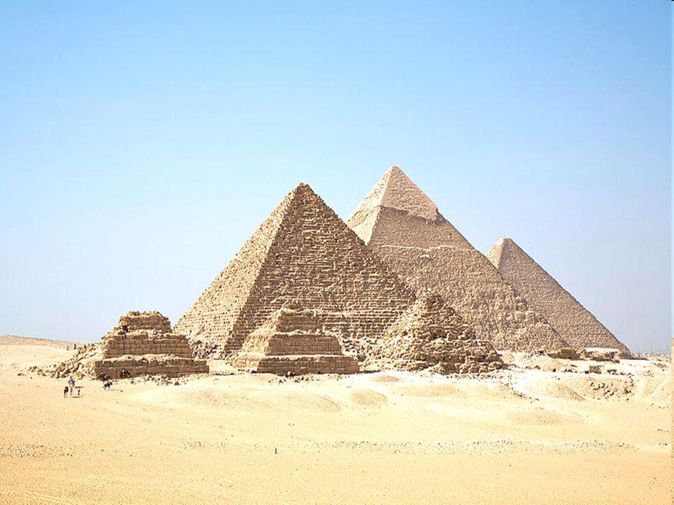 Gliederung Cheops-Pyramide Chephren-Pyramide