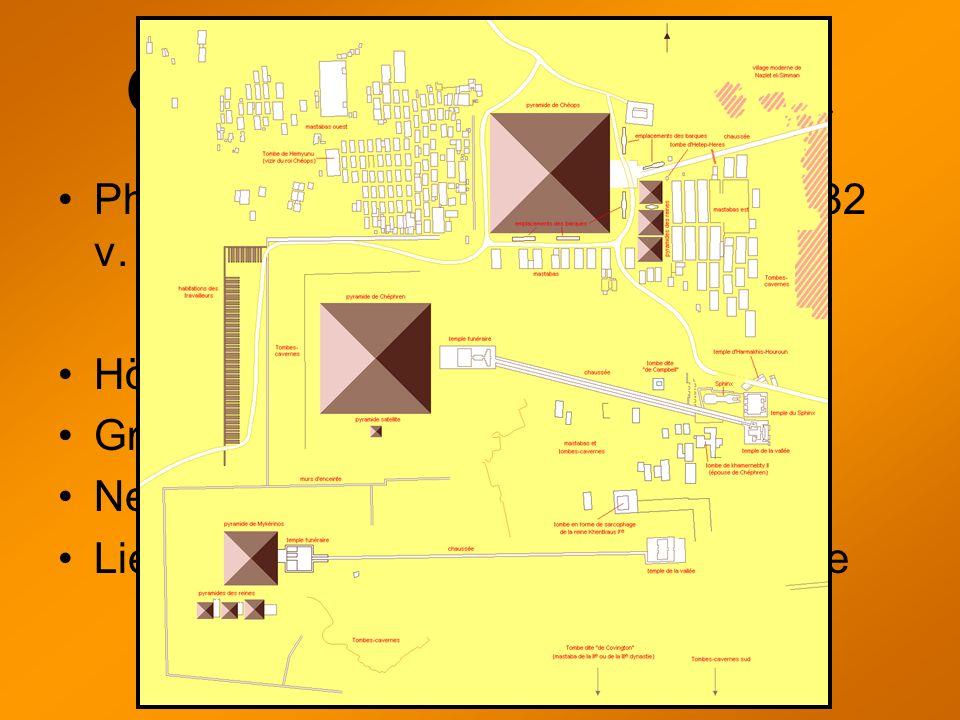 Chephrenpyramide Pharao Chephren regierte 2558 bis 2532 v. Chr.