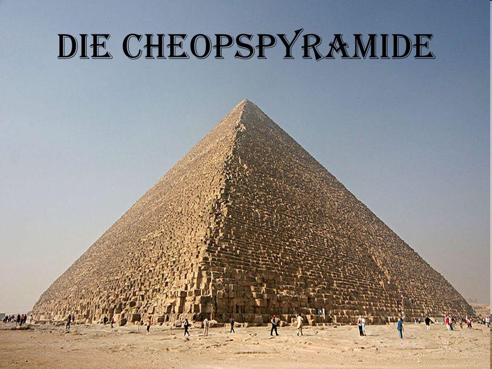 Die Cheopspyramide