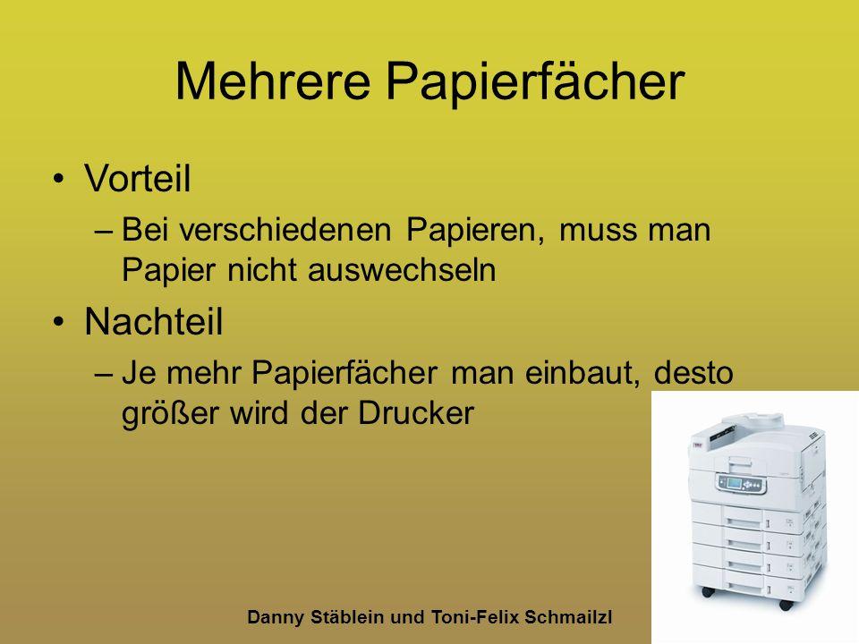 Danny Stäblein und Toni-Felix Schmailzl