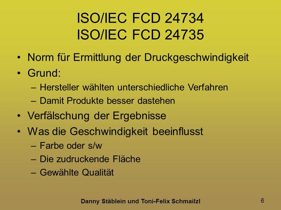 ISO/IEC FCD 24734 ISO/IEC FCD 24735