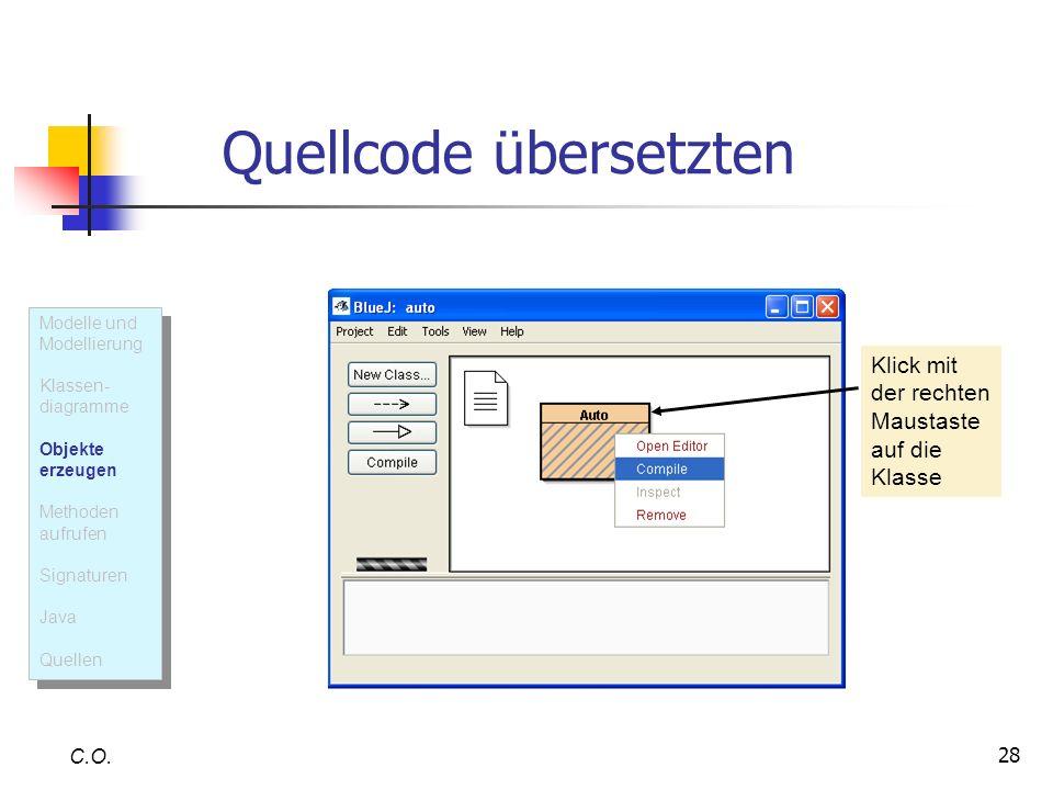 Quellcode übersetzten