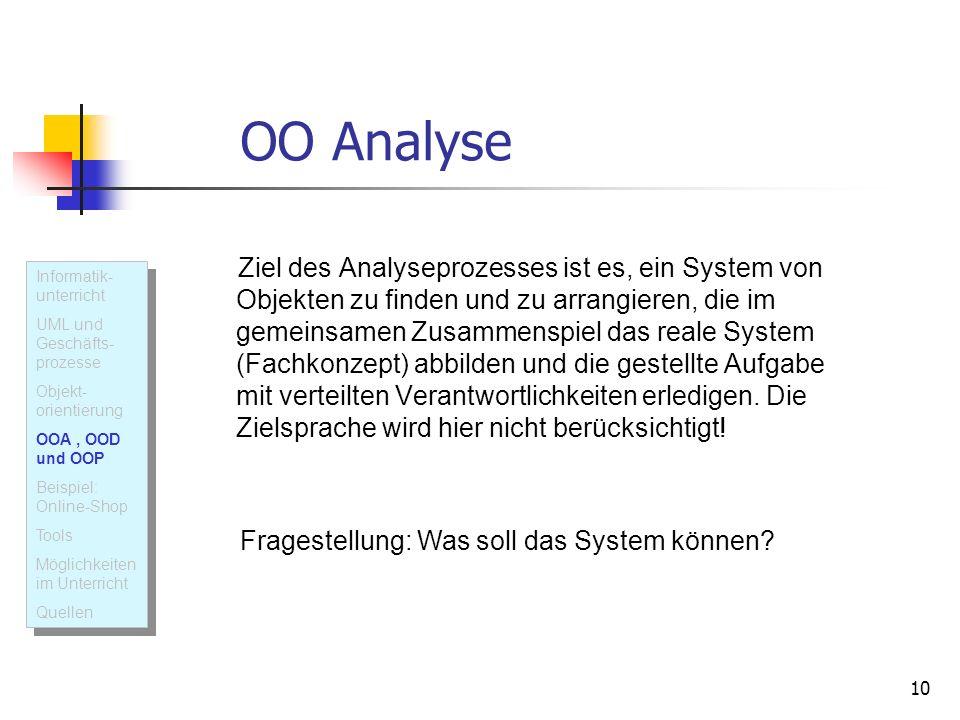 OO Analyse