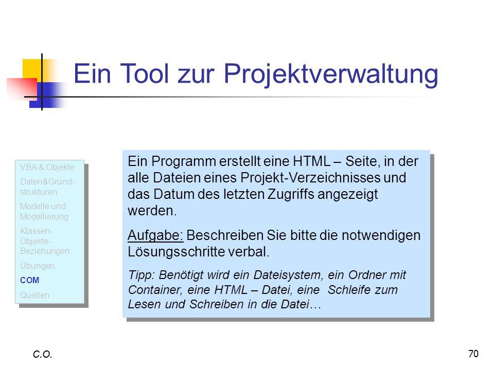 Ein Tool zur Projektverwaltung