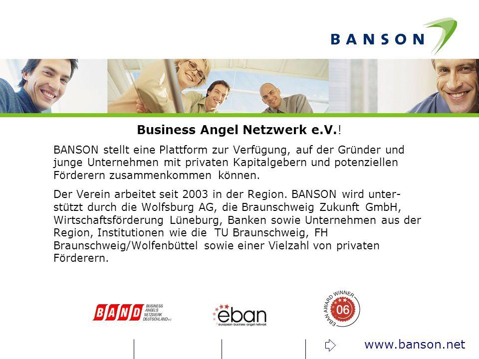 Business Angel Netzwerk e.V.!