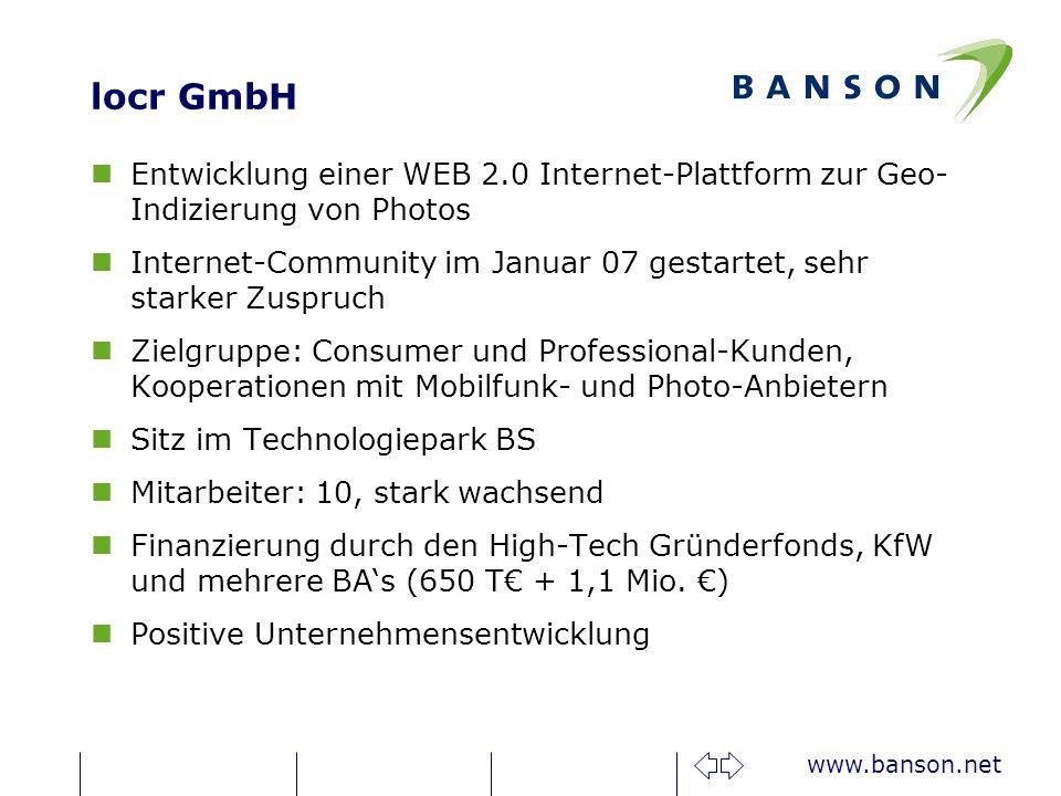 locr GmbH Entwicklung einer WEB 2.0 Internet-Plattform zur Geo-Indizierung von Photos.