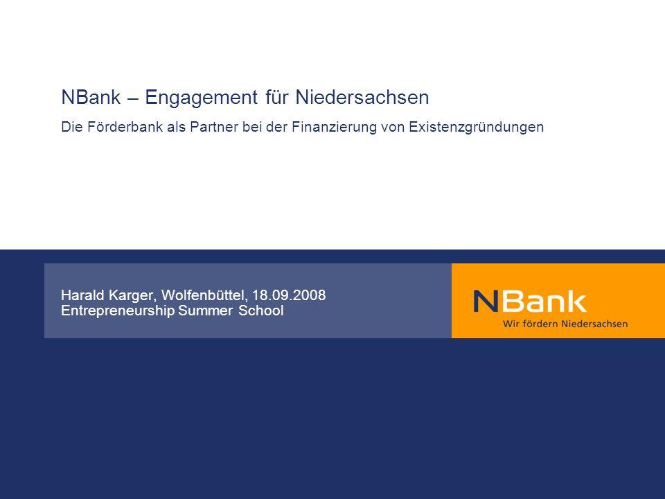Harald Karger, Wolfenbüttel, 18.09.2008 Entrepreneurship Summer School