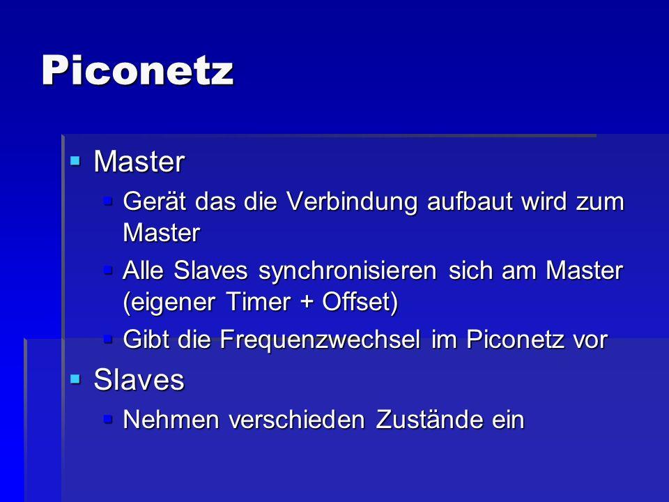 Piconetz Master Slaves