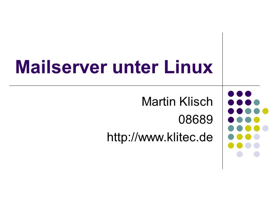 Mailserver unter Linux